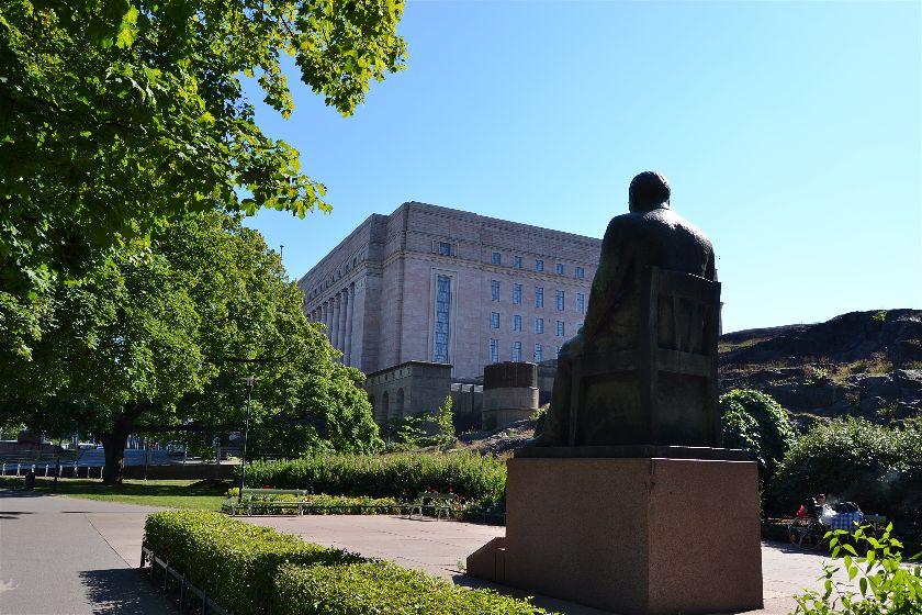 Parlamento, Helsinki, Finlandia