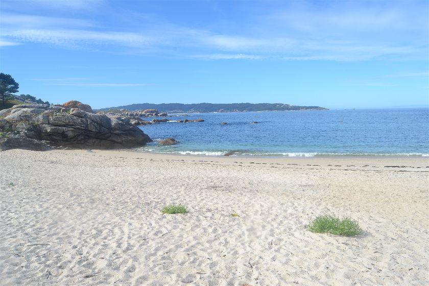 Playa Ancoradoiro, Cabo Udra, Pontevedra, España