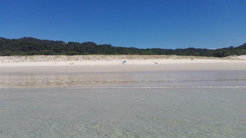 Playa Nerga, Cangas, Pontevedra, España