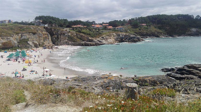 Playa Paxriñas, Sanxenxo, Pontevedra, España