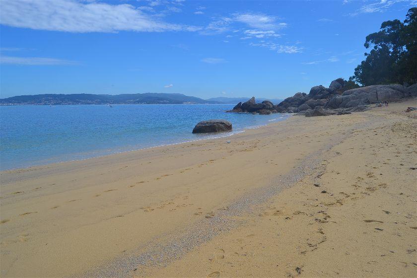 Playa Tuia, Bueu, Pontevedra, España