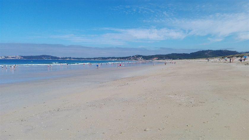 Playa A Lanzada, O Grove, Pontevedra, España