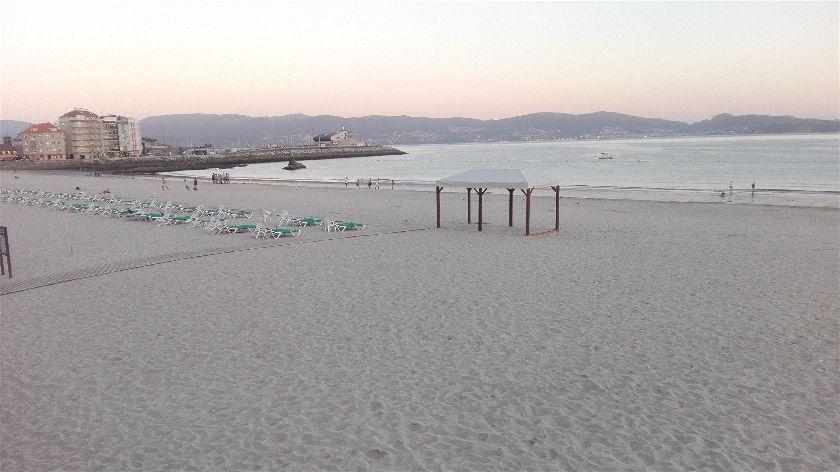 Playa de Silgar, Sanxenxo, Pontevedra, España