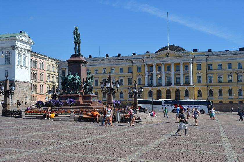 Senado, Helsinki, Finlandia