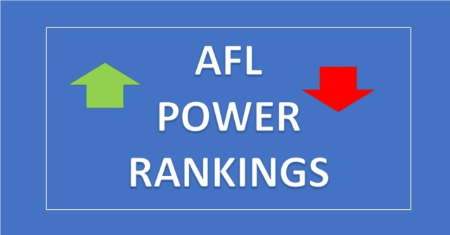 AFL 2019: Power Rankings Round 23