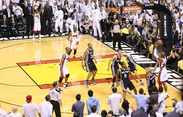 Friday Flashback – Ray Allen and that Shot
