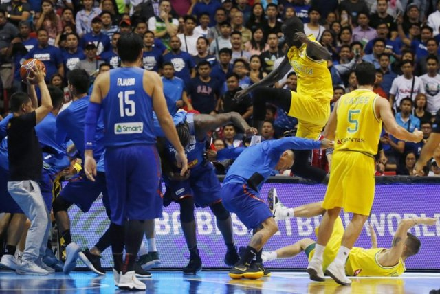 Goulding whacked again in Basketbrawl fallout
