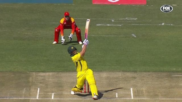 Big hitting Finch sets T20I record again