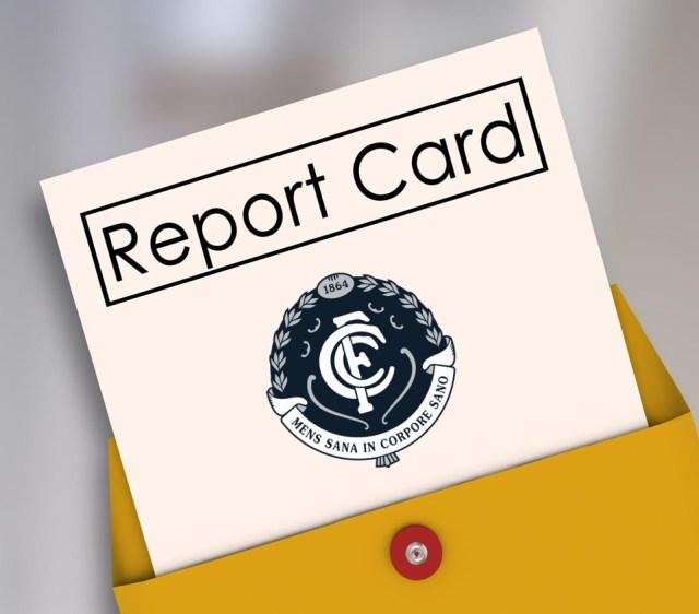 AFL 2019: Carlton End of Season Report Card