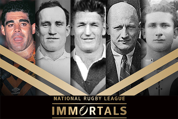 NRL answer 'Immortal' question perfectly