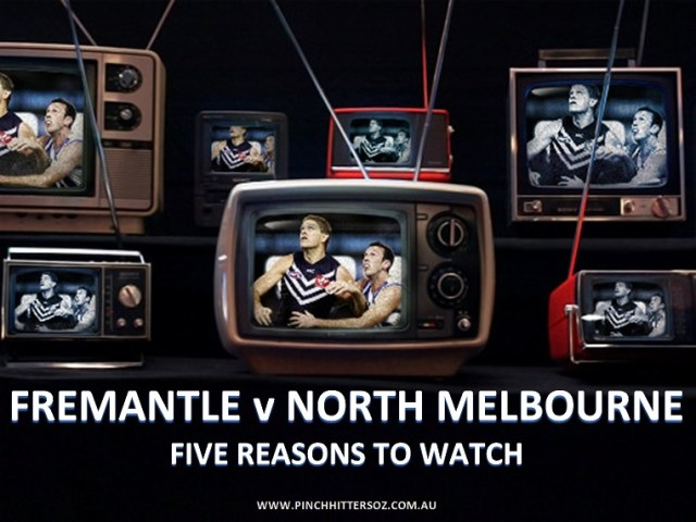 AFL Round One 2019: Fremantle v North Melbourne – Five Reasons to Watch