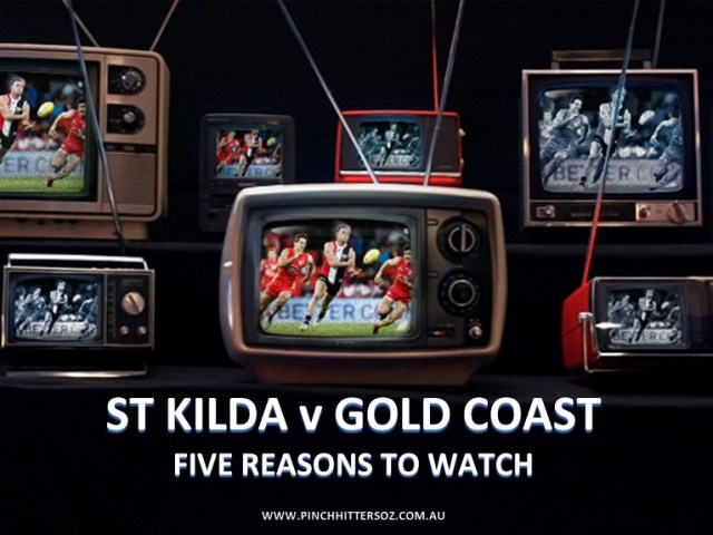 AFL Round One 2019: St Kilda v Gold Coast – Five Reasons to Watch