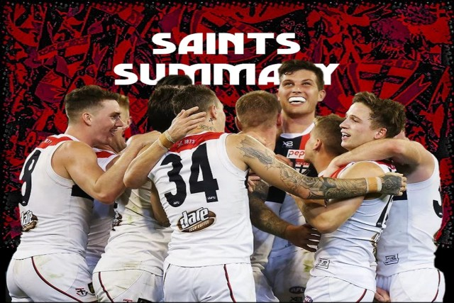 Saints Summary – A Brief View From the Top
