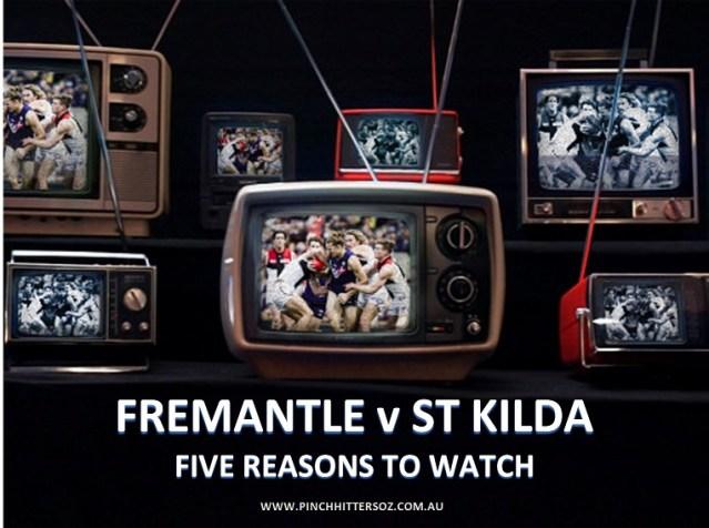 AFL 2019 Round Three: Fremantle v St Kilda – Five Reasons to Watch.