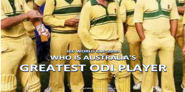 Who is Australia's greatest ODI player?