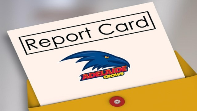 AFL 2019: Adelaide Crows End of Season Report Card