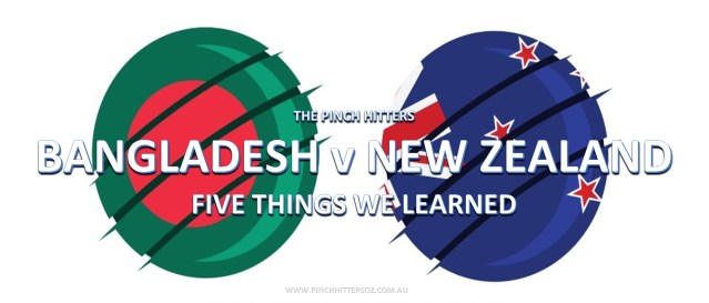 CWC19: Bangladesh vs New Zealand – Five Things We Learned