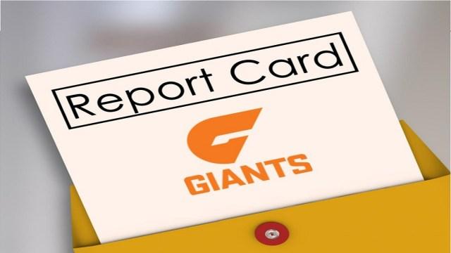 AFL 2019: GWS – End of Season Report Card