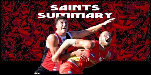 Saints Summary – Deja Vu All Over Again