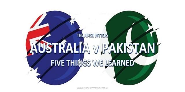 CWC19: Australia vs Pakistan – Five Things We Learned