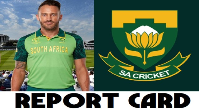 CWC19 Report Card: South Africa