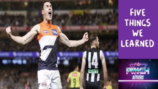 AFL 2019: Five Things we Learned – Second Prelim Final