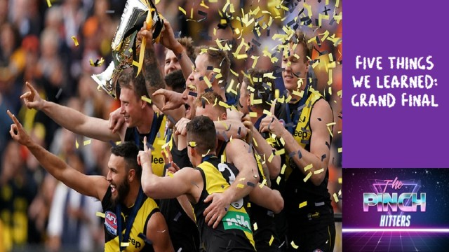 AFL 2019: Five Things We Learned – Grand Final