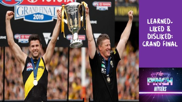 AFL 2019: Grand Final – Learned, Liked and Disliked