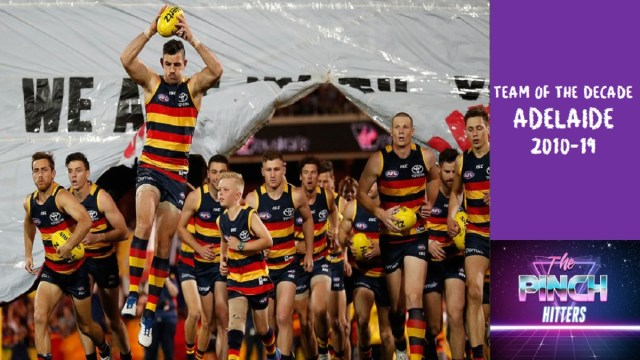 Adelaide Crows Team of the Decade 2010-2019