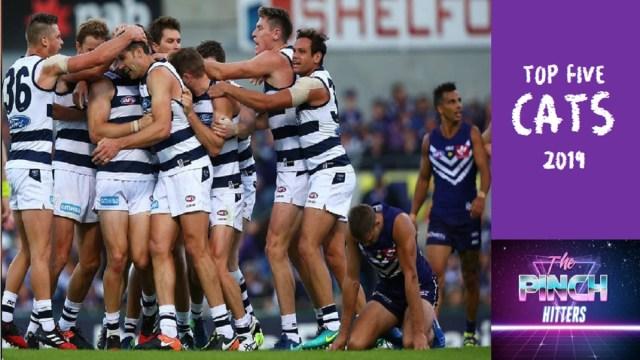 AFL 2019: Top Five Cats