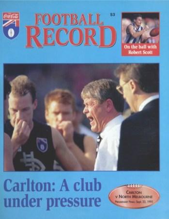 Carlton: A Club Under Pressre