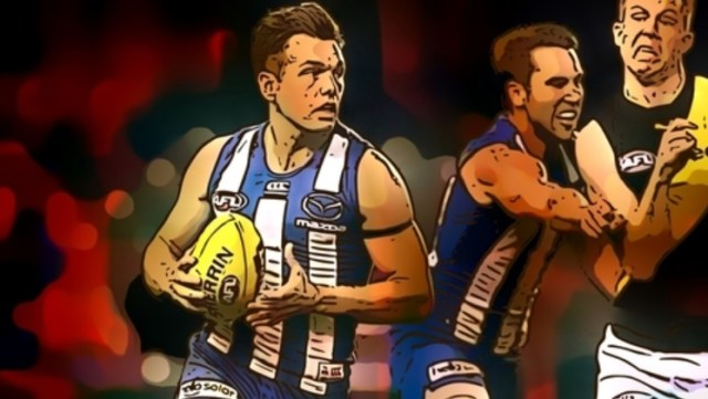 Shaun Higgins is number two in The Pinch Hitters Top Ten Kangaroos of the 2010's.