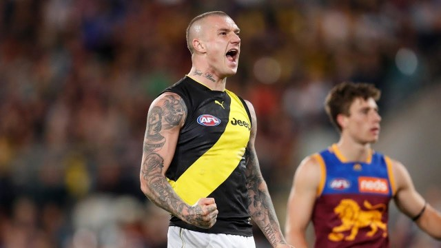 Dusty's Lion Taming efforts in the Qualifying Final was one of the Pinch Hitters Top Five Individual Moments for 2019.