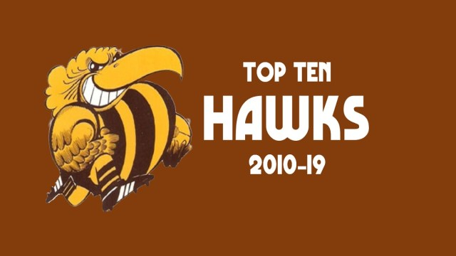 Top Ten Hawks 2010-19