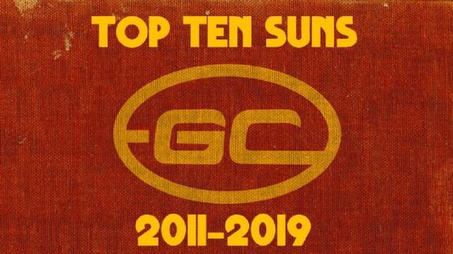 Top Ten Suns 2011-19