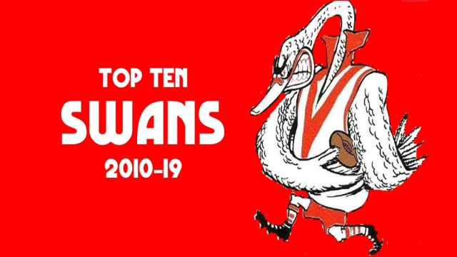 Top Ten Swans 2010-19
