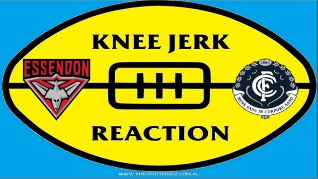 AFL 2020: Essendon v Carlton – Round Four Knee Jerk Reaction