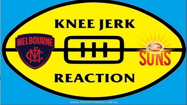 AFL 2020: Melbourne v Gold Coast – Round Six Knee Jerk Reaction