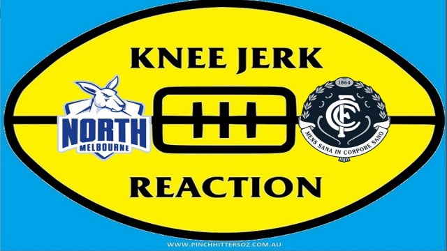 AFL 2020: North Melbourne v Carlton – Round Eight Knee Jerk Reaction