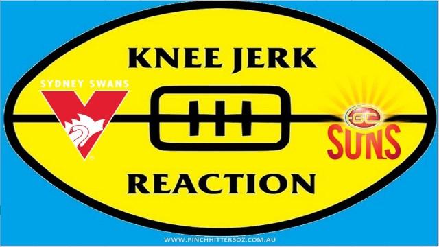 AFL 2020: Sydney v Gold Coast – Round Seven Knee Jerk Reaction