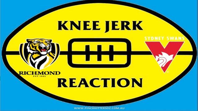 AFL 2020: Richmond v Sydney – Round Six Knee Jerk Reaction
