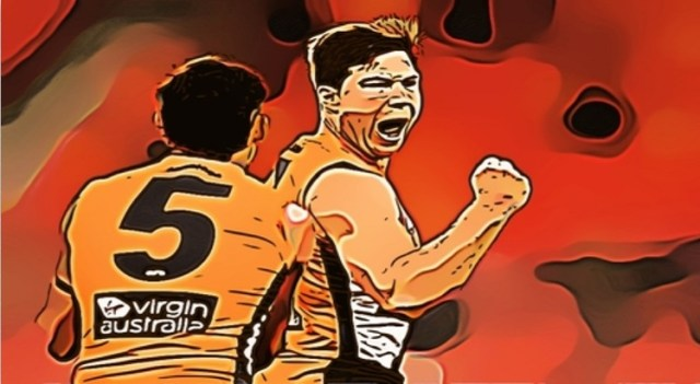 Toby Greene was on fire against Richmond. He made The Pinch Hitters Learned, Liked and Disliked list or Round Eight of the 2020 AFL Season.
