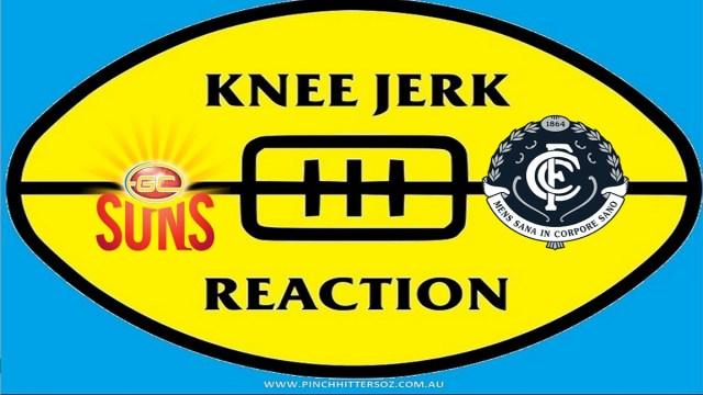 AFL 2020: Gold Coast v Carlton – Round 13 Knee Jerk Reaction