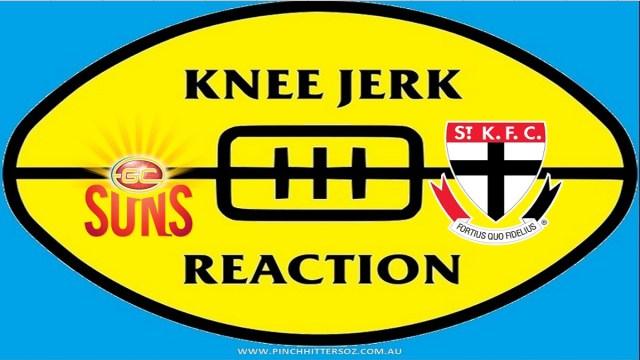 AFL 2020: Gold Coast v St Kilda – Round Ten Knee Jerk Reaction