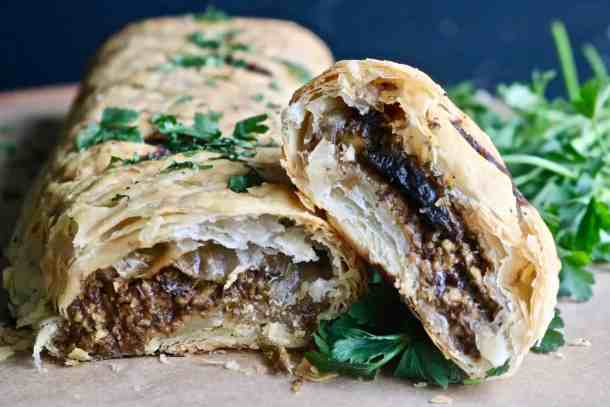Mushroom Wellington Photo