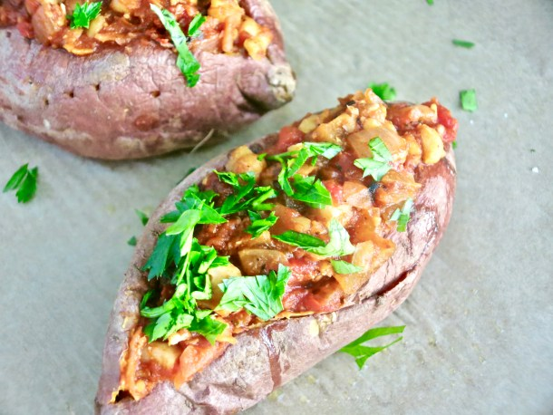 Sweet Potato Chickpea Sloppy Joes