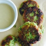 Falafel with Tahini Dipping Sauce Photo
