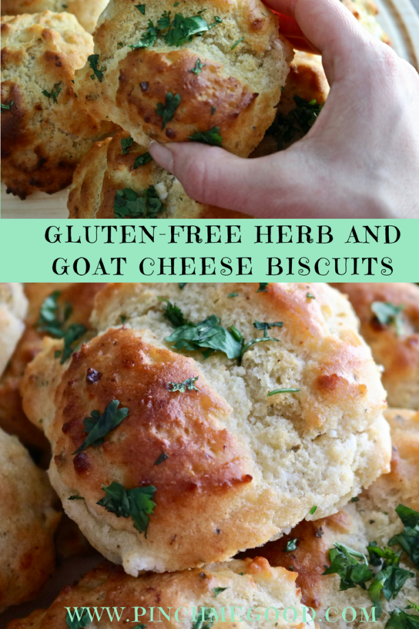 Gluten-Free Herb and Goat Cheese Biscuits