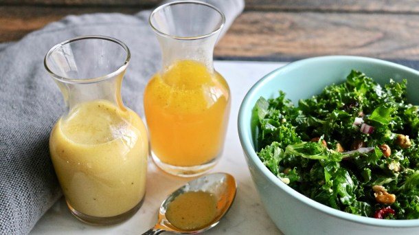 Amazing Mustard and Orange vinaigrette Dressings