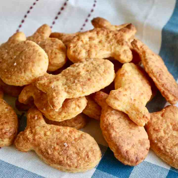 Homemade Goldfish Crackers Recipe